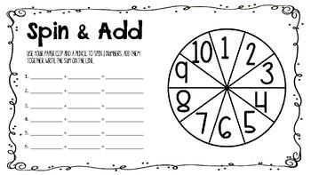 Spin & Add