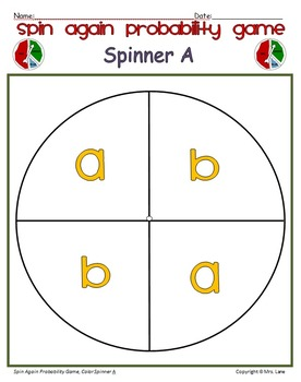 Spin Again Probability Game