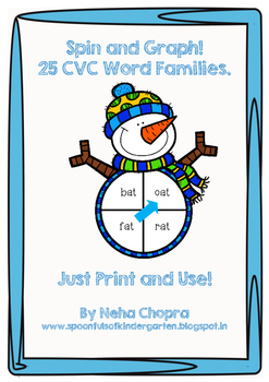 Spin And Graph CVC Words!