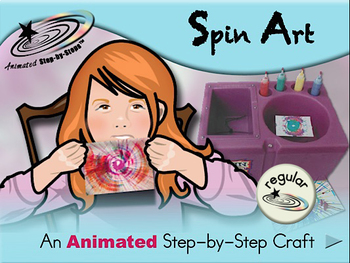Spin Art - Animated Step-by-Step Craft - Regular