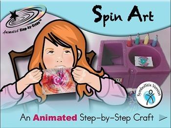 Spin Art - Animated Step-by-Step Craft SymbolStix