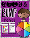 Spin & Bump *Diphthongs* 5 fun BUMP games for phonics