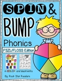 Spin & Bump * FSZL FLOSS Rule Edition* 5 fun BUMP games for phonics
