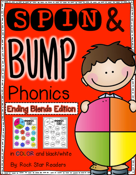 Spin & Bump *Ending Blends Edition* 5 fun BUMP games for phonics