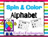 Spin & Color Alphabet (FREEBIE)