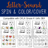 Letter Sounds: Spin and Color/Cover