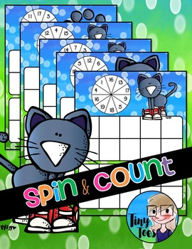 Spin & Count Blue Cat