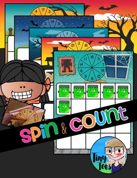 Spin & Count Halloween