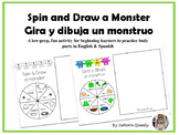Spin & Draw a Monster/Gira y Dibuja un monstruo - Practice