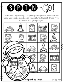 Spin-Go: Christmas Articulation