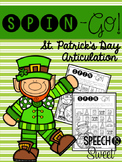 Spin-Go: St. Patrick's Day Articulation