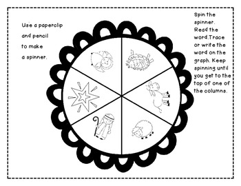 Spin Graph Add The First Christmas