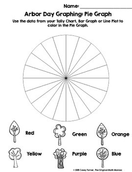 Spin & Graph: Arbor Day Style FREEBIE