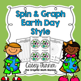 Spin & Graph: Earth Day (Bar Graph, Tally Chart, Line Plot & Pie Graph)