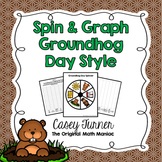 Spin & Graph: Groundhog Day (Bar Graph, Tally Chart, Line Plot & Pie Graph)