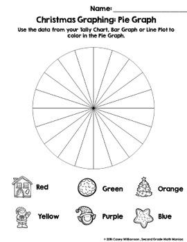 Spin & Graph: Christmas (Bar Graph, Tally Chart, Line Plot & Pie Graph)
