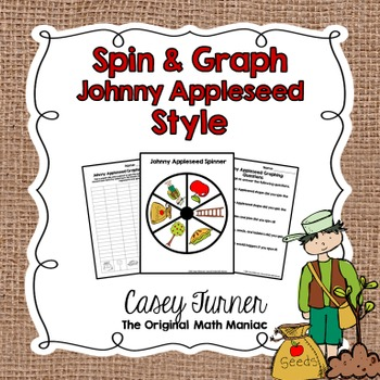 Spin & Graph: Johnny Appleseed FREEBIE