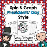 Spin & Graph: Presidents' Day (Bar Graph, Tally Chart, Lin