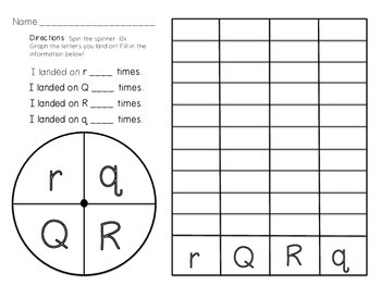 Spin, Graph, Record - Alphabet Version