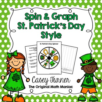 Spin & Graph: St. Patrick's Day (Bar Graph, Tally Chart, L