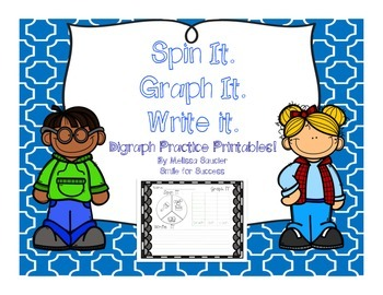 Spin It. Graph It. Write It. {Digraph Printables}