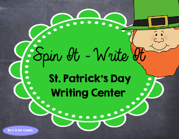 Spin It - Write It: St. Patty's Day Writing