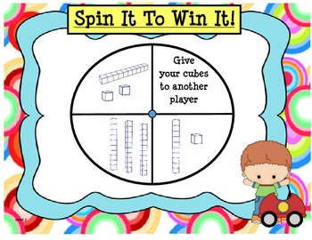 Spin It to Win It Place Value Games