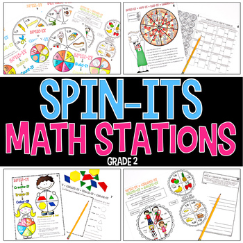 Spin-Its Math Stations YEARLONG Mega Bundle