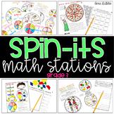 Spin-Its Math Stations YEARLONG Mega Bundle - GRADE 3