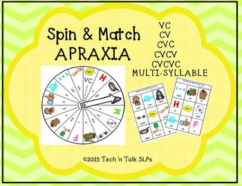 Spin & Match for APRAXIA