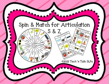 Spin & Match for Articulation S & Z