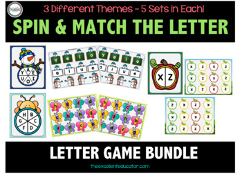 Spin & Match the Letter