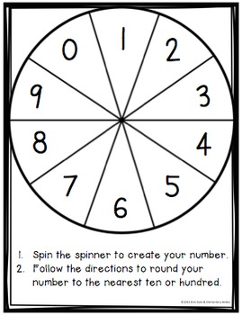 Spin Me Round! {A Rounding Game Freebie}