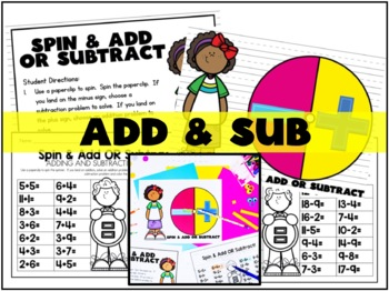 Spin On!  (Ten Math Stations with Spinners)