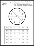 Sums to 20 - Spin Plus Eleven - Math Classroom Pencil Spin