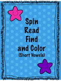 Short Vowels CVC | Spinning game