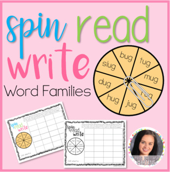 Spin Read Write: Word Families