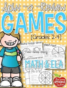 ELA and Math Games