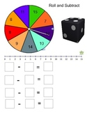 Smartboard: Spin, Roll and Subtract
