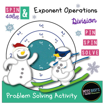 Spin & Solve - Exponent Rules - Division