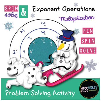 Spin & Solve - Exponent Rules - Multiplication