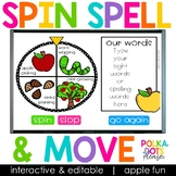 Spin, Spell and MOVE! Apples Edition
