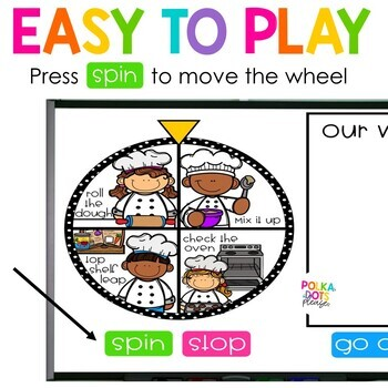Spin, Spell and MOVE! Baking Edition