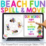 Spelling Activities for any list of words | Beach