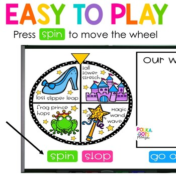 Spin, Spell and MOVE! Fairy Tale Edition
