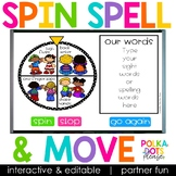 Spelling Activities for any list of words | Partner Fun