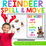 Spin, Spell and MOVE! Reindeer Christmas Edition