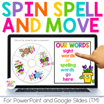 Spin, Spell and MOVE! Spring Edition