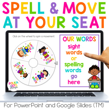 Spin, Spell and MOVE! In Your Chair Edition