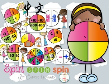 Spin, Spin, Spin-directions in Chinese